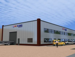 Bouw bedrijfsruimte te Aalsmeer