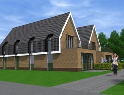 Nieuwbouw woongebouw te Aalsmeer