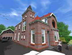 Verbouw woning Noord-Scharwoude