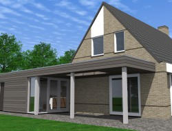 Verbouw/vergroten woning op de Vlietlanden