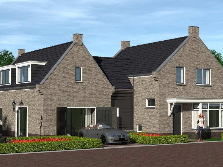 Verbouw/vergroten woning te Lutjebroek